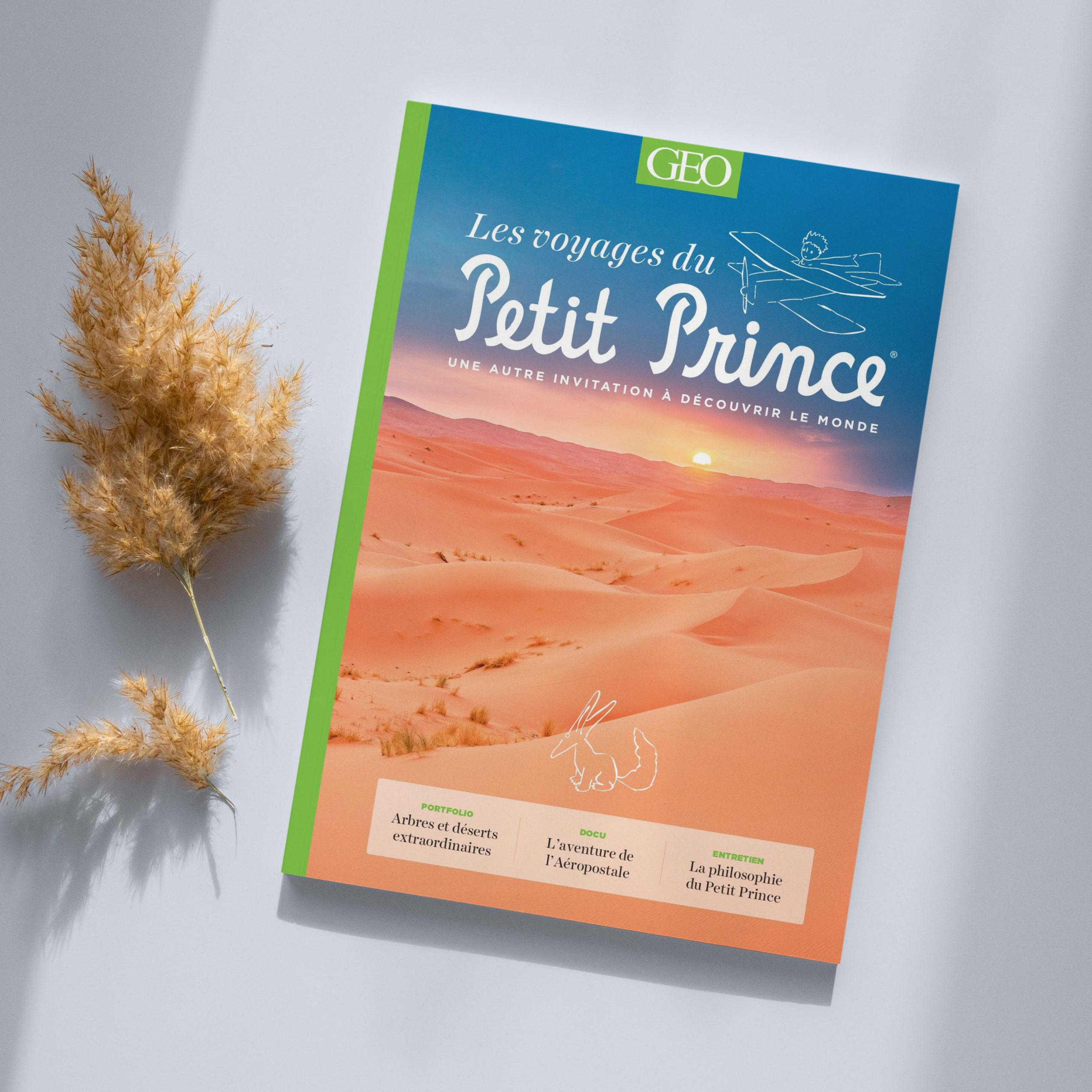 Magazine Geo Hors-série : Les voyages du Petit Prince